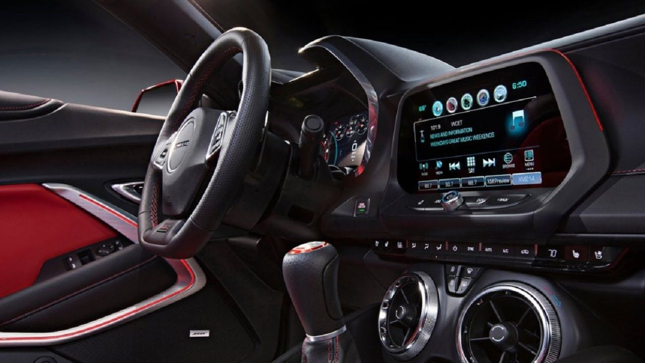 2016 chevrolet ss interior - photo #24