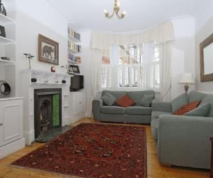 Room · Terrace Living Room Ideas   Small Victorian ...