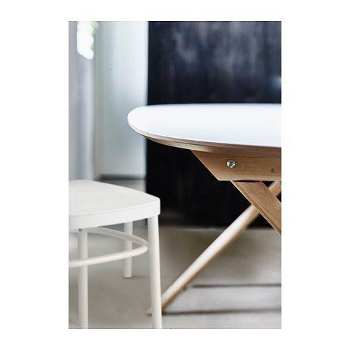 Sl hult tavolo bianco betulla dalshult bianco betulla birch apartments and interiors - Tavolo snack ikea ...