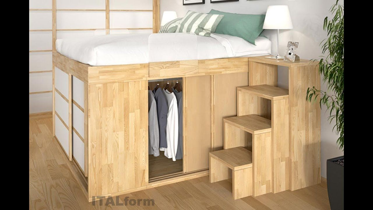 Modern Space Saving Bedroom Furniture