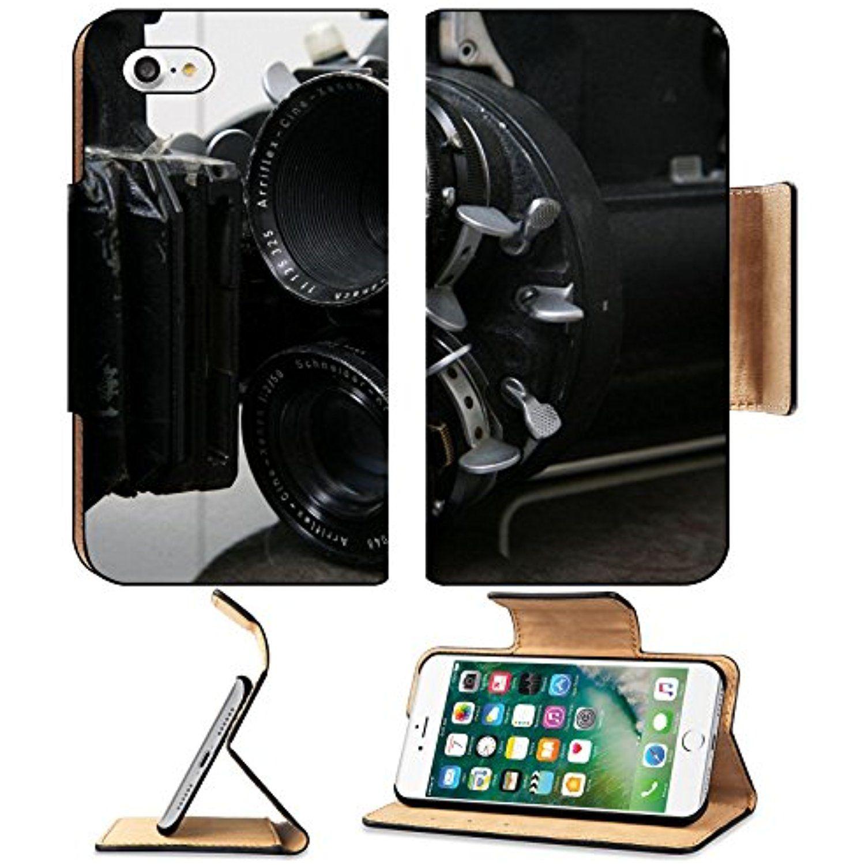 Luxlady premium apple iphone 7 flip pu leather wallet case