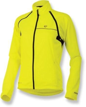 The Pearl Izumi Elite Barrier convertible bike jacket has removable  sleeves be8fa19ca