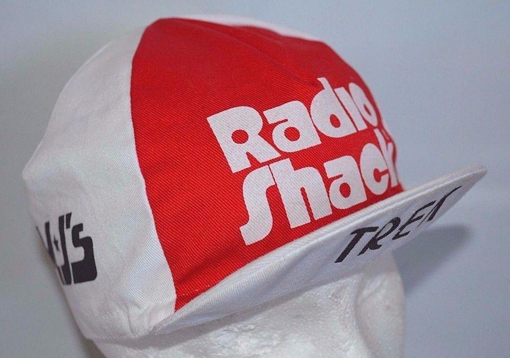 Vintage 80s Cycling Hat Nike Trek Nissan Radio Shack MJ s Bike Bicycle  Nike 2d4c0d8815c