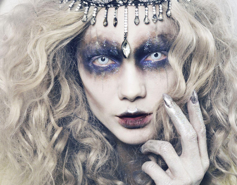 linda hallberg - todays look - evil ice queen october 25, 2015