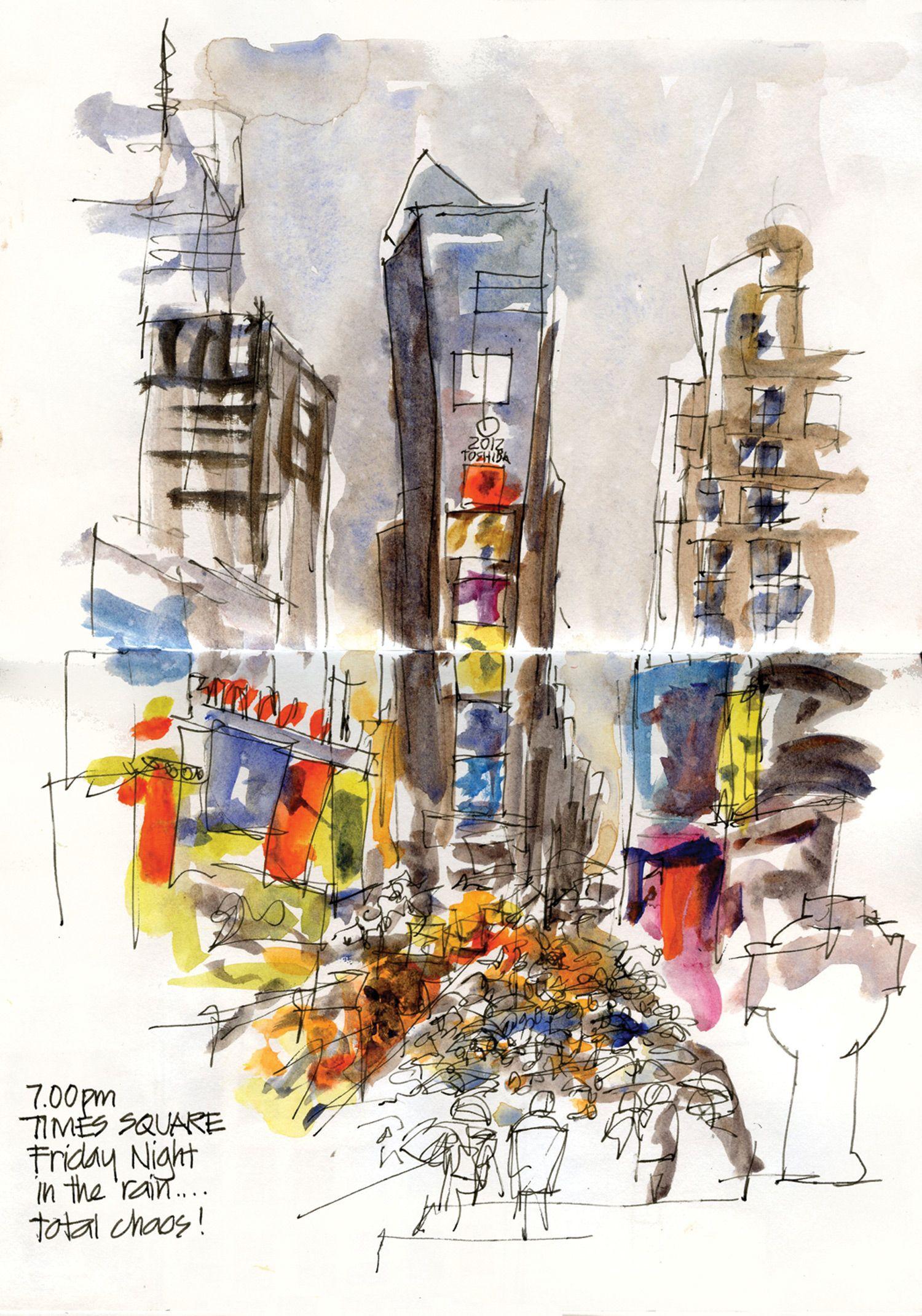 13 Tips For Urban Sketching Voyage Aquarelle Aquarelle Et Voyage