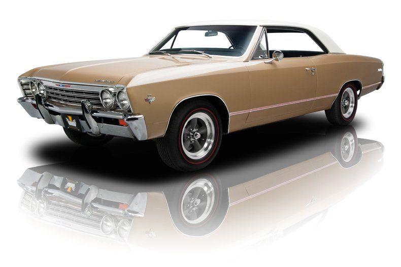 1967 Chevelle Malibu In Beautiful Granada Gold With Capri Cream Roof Chevrolet Chevelle Malibu Chevrolet Chevelle Classic Cars