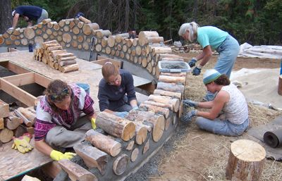 Construction · Cordwood Homes ... Design Inspirations