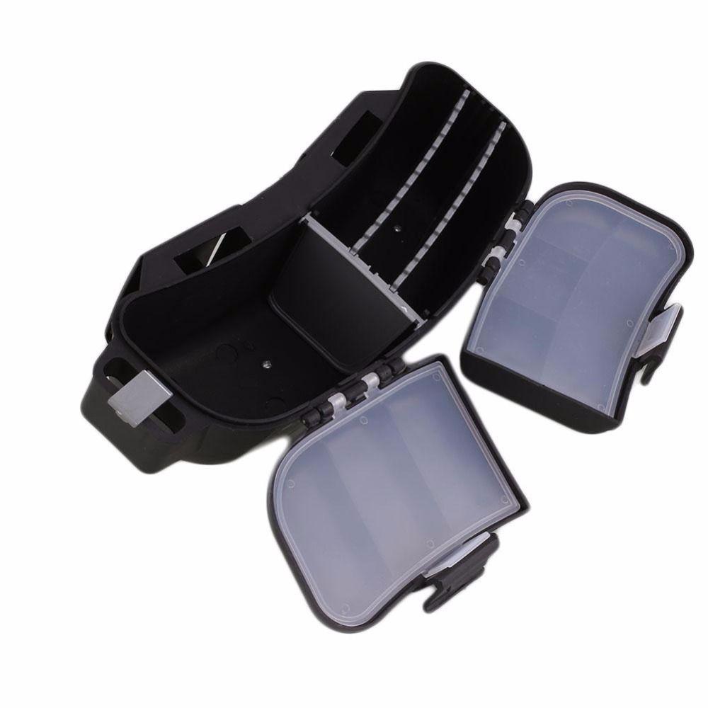 Waterproof Waist Belt Fishing Tackle Box Lure Spoons Hooks Storage Bag Pockets
