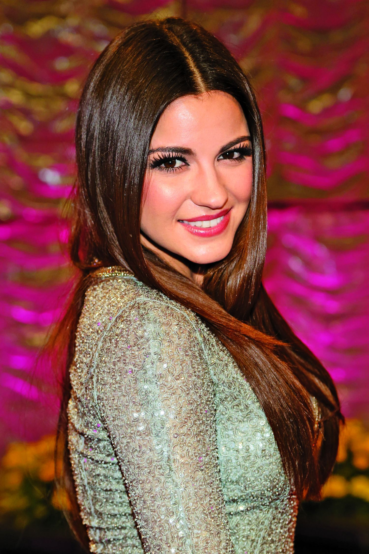 Maite Perroni Celebrity Hairstyles For Long Hair Length