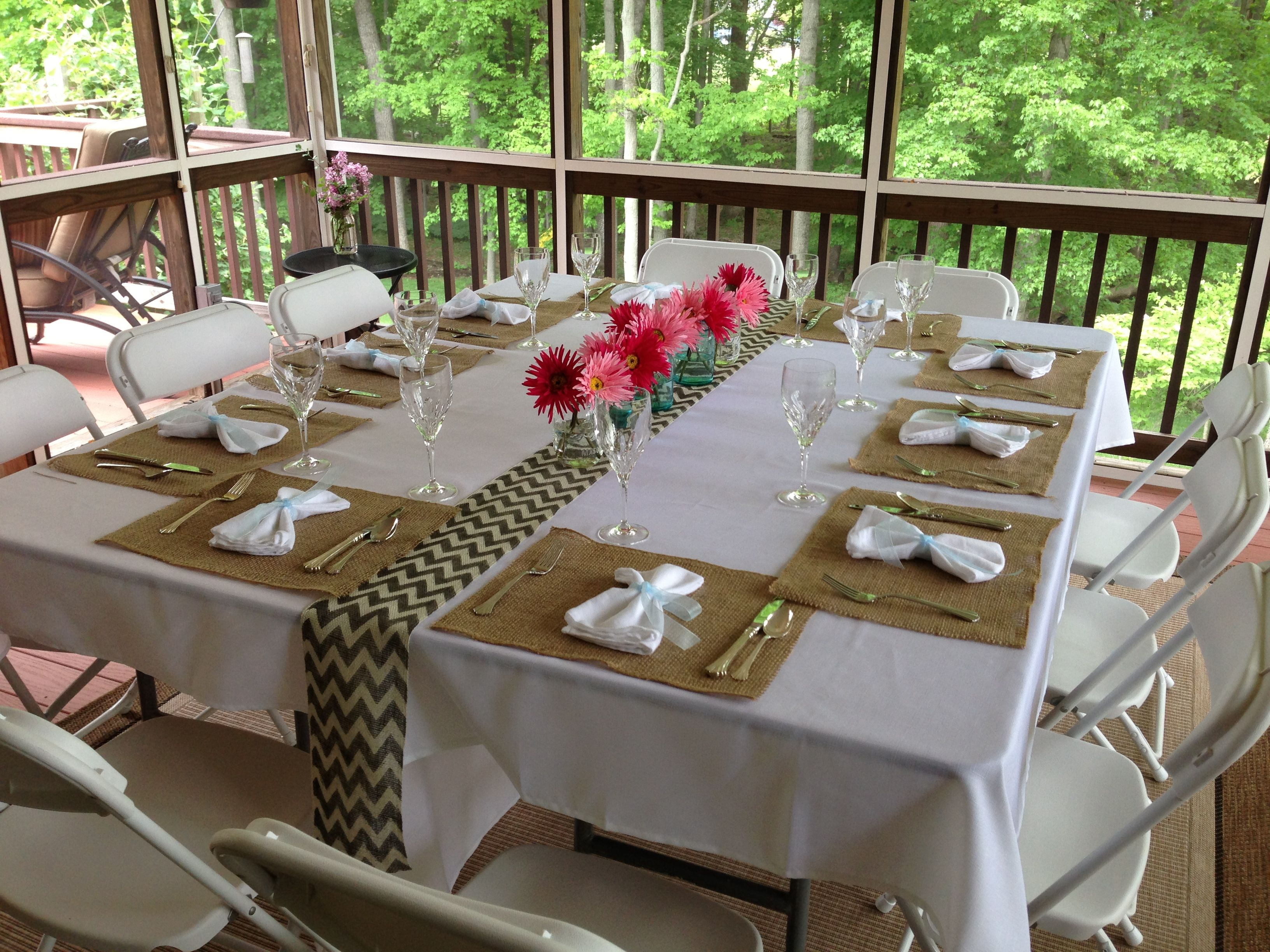 Awesome Prom Dinner Party Ideas Part - 8: Simple But Elegant Prom Dinner On The Porch. Prom DecorProm ThemesFormal ...