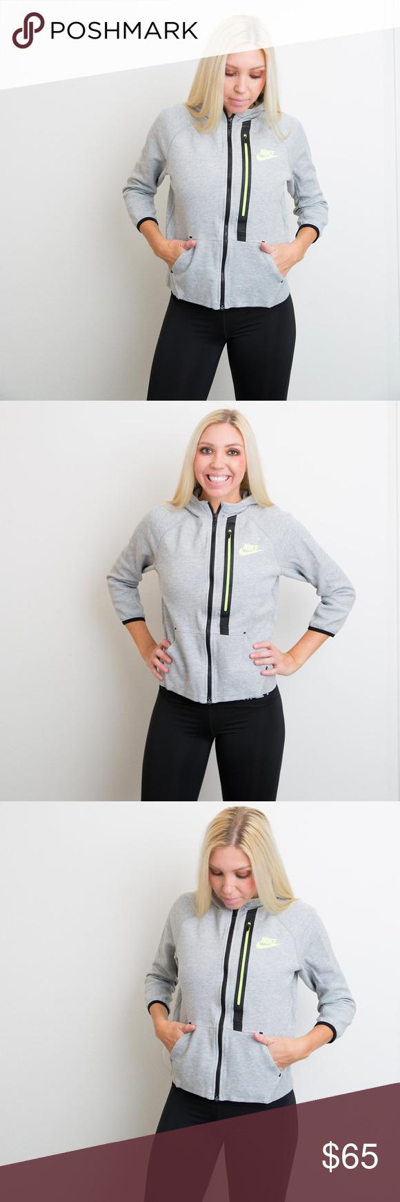 CCO SALE!! Nike // Tech Fleece FullZip Hoodie Nike long