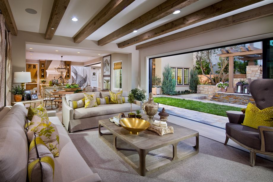 toll brothers avalon model great room homes interior design