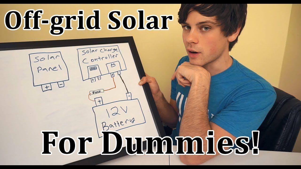 Off-grid Solar for Dummies: Beginner Basics https://cstu ...