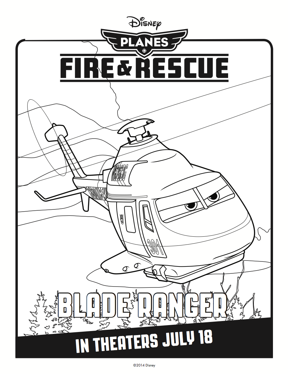 Blade Ranger Coloring Page Coloring Pages Coloring