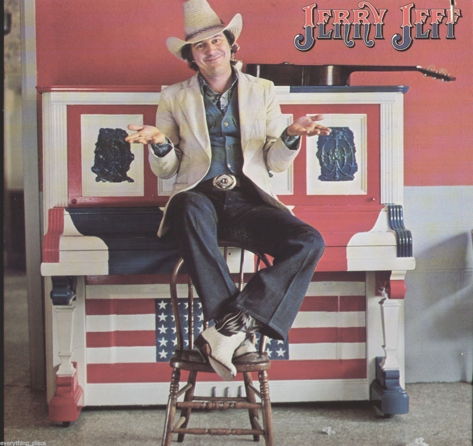 Jerry Jeff Walker Jerry Jeff Vinyl Lp Record Album Vintage Vinyl Records Jerry Jeff Walker Vinyl Record Album