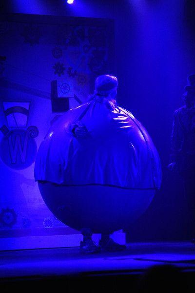 Violet Beauregarde Inflation Girl