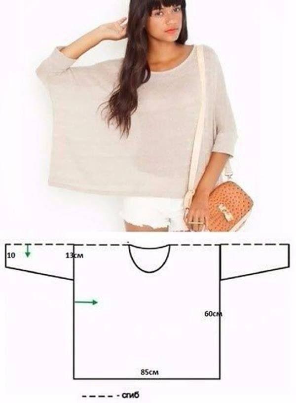 Pin de Shachar Stolovsky en DIY clothes | Pinterest | Costura, Ropa ...