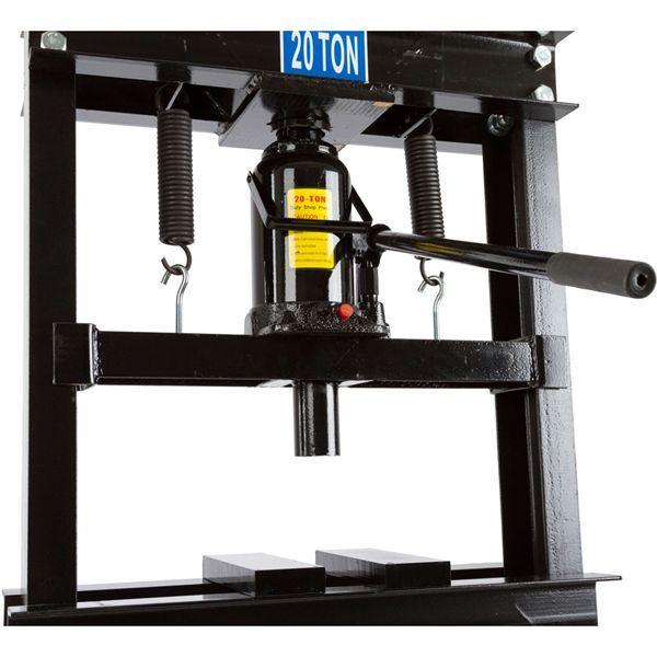 Black Widow 20 Ton Hydraulic Shop Press | Hydraulic ram, Shopping ...