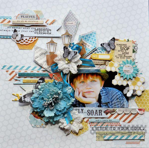 Joanne Bain - Follow Your Heart - Manor House Creations