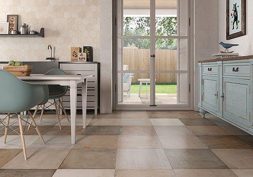 suelos-y-paredes-de-ceramica-gala-3 Cocina Pinterest Suelos - paredes de cemento