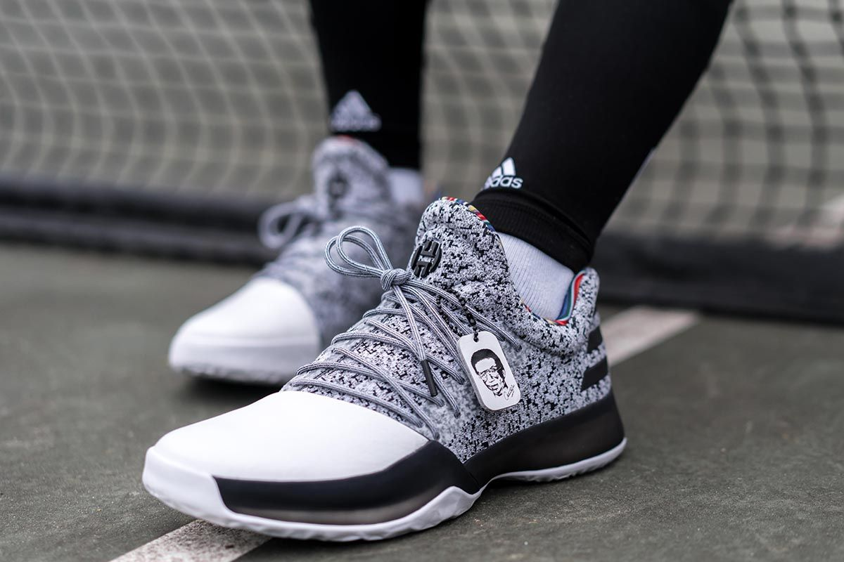 fc899dcf75f47 adidas Basketball Celebrates Arthur Ashe with Dame 3, D Rose 7   Harden Vol.