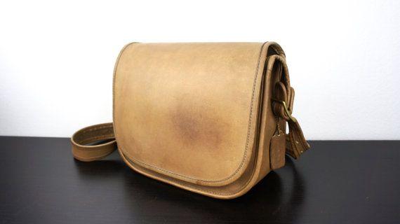 f5c6eef6198c Vintage Coach Saddle Bag Side Pouch Purse