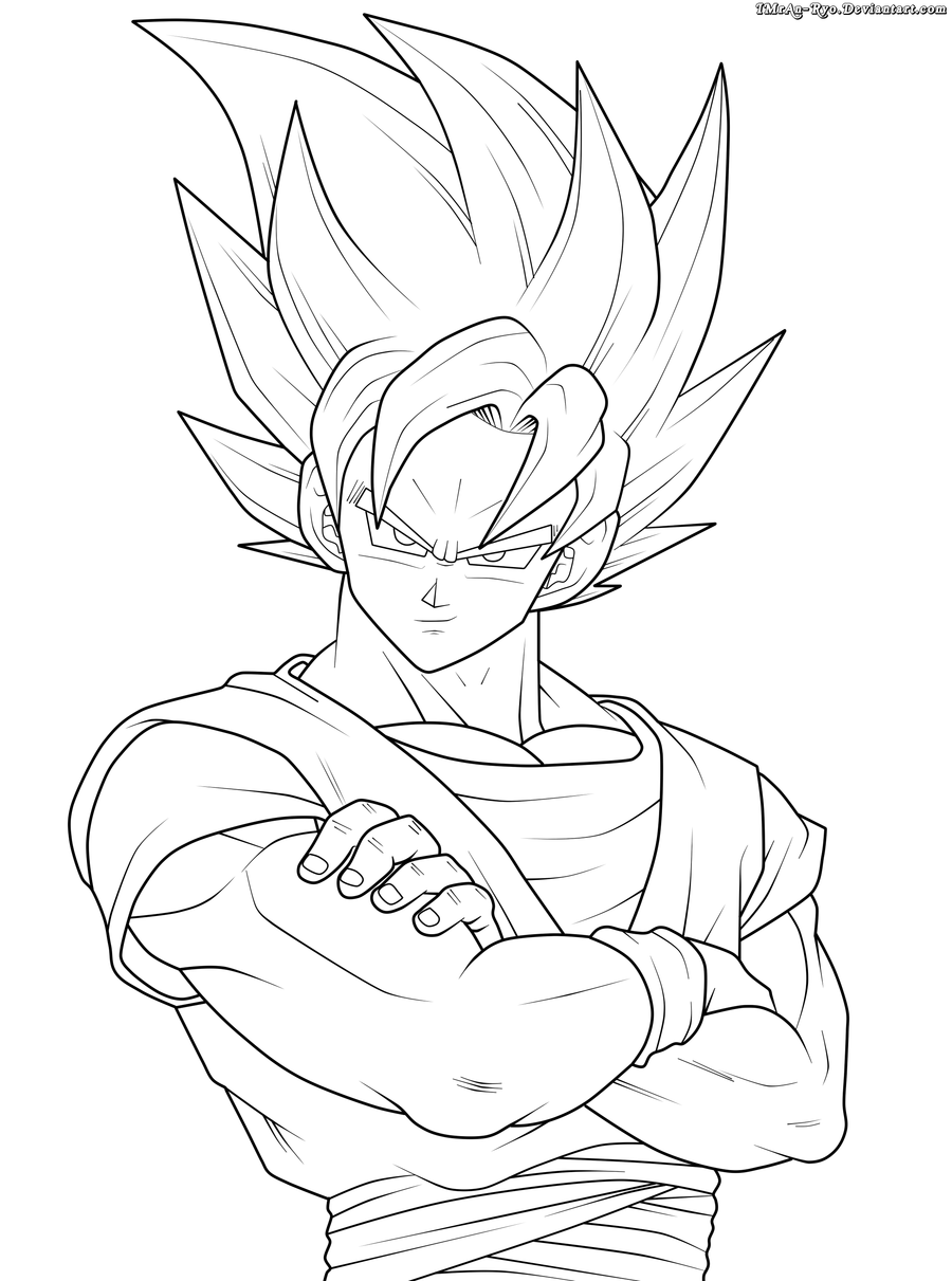 Anime Fans For Anime Fans Goku Desenho Desenhos