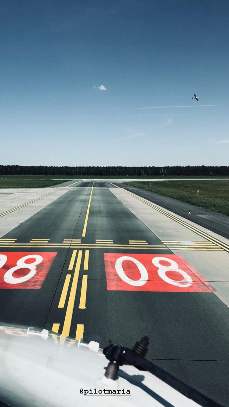 Photos Of Pilot Maria On Instagram Are Just So Good Pilot