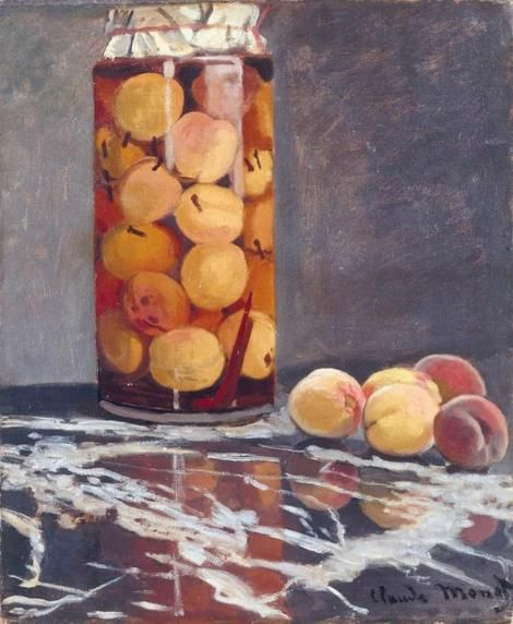 "Claude Monet, ""Jar of Peaches"" on ArtStack #claude-monet #art"