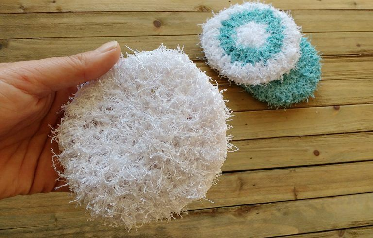 Crocheted Scrubbies For Dishwashing Crochet Scrubbies