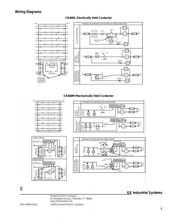 12  Electrically Held Contactor Wiring Diagramelectrically Held Contactor Wiring Diagram