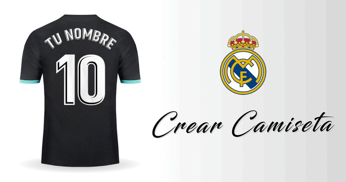 731c2fc33d89c Personalizar camiseta de Real Madrid CF 2017 2018 Visita con tu Nombre y  Numero.
