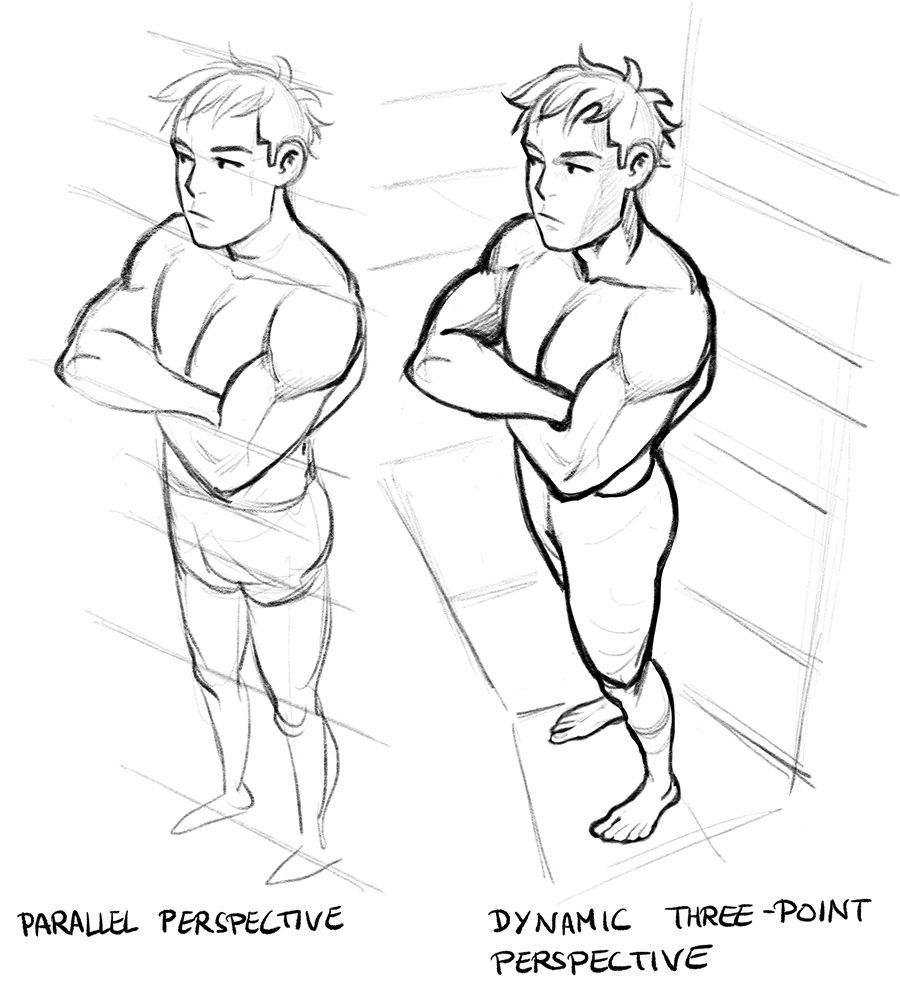 Drawing Perspective Drawings Perspective Art Figure Drawing Reference