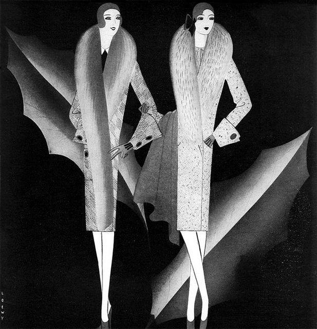 Art Detective - Taide etsivä: 2016  Raymond Loewy toimi kuvittajana esim. Vogue ja Harper's Bazaar !!