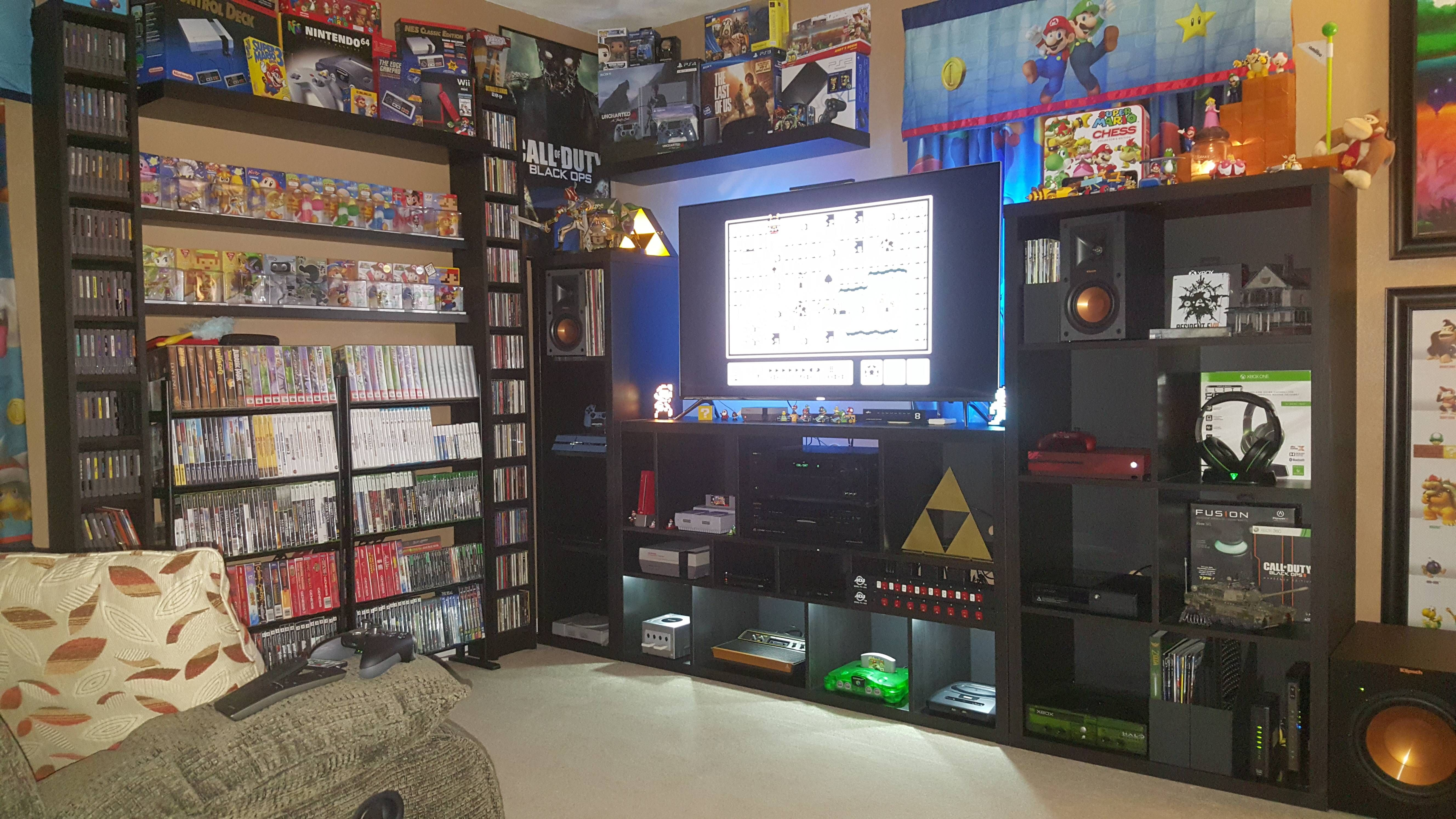 My Game Room Updated With More Pics Http Ift Tt 2konjnu Game