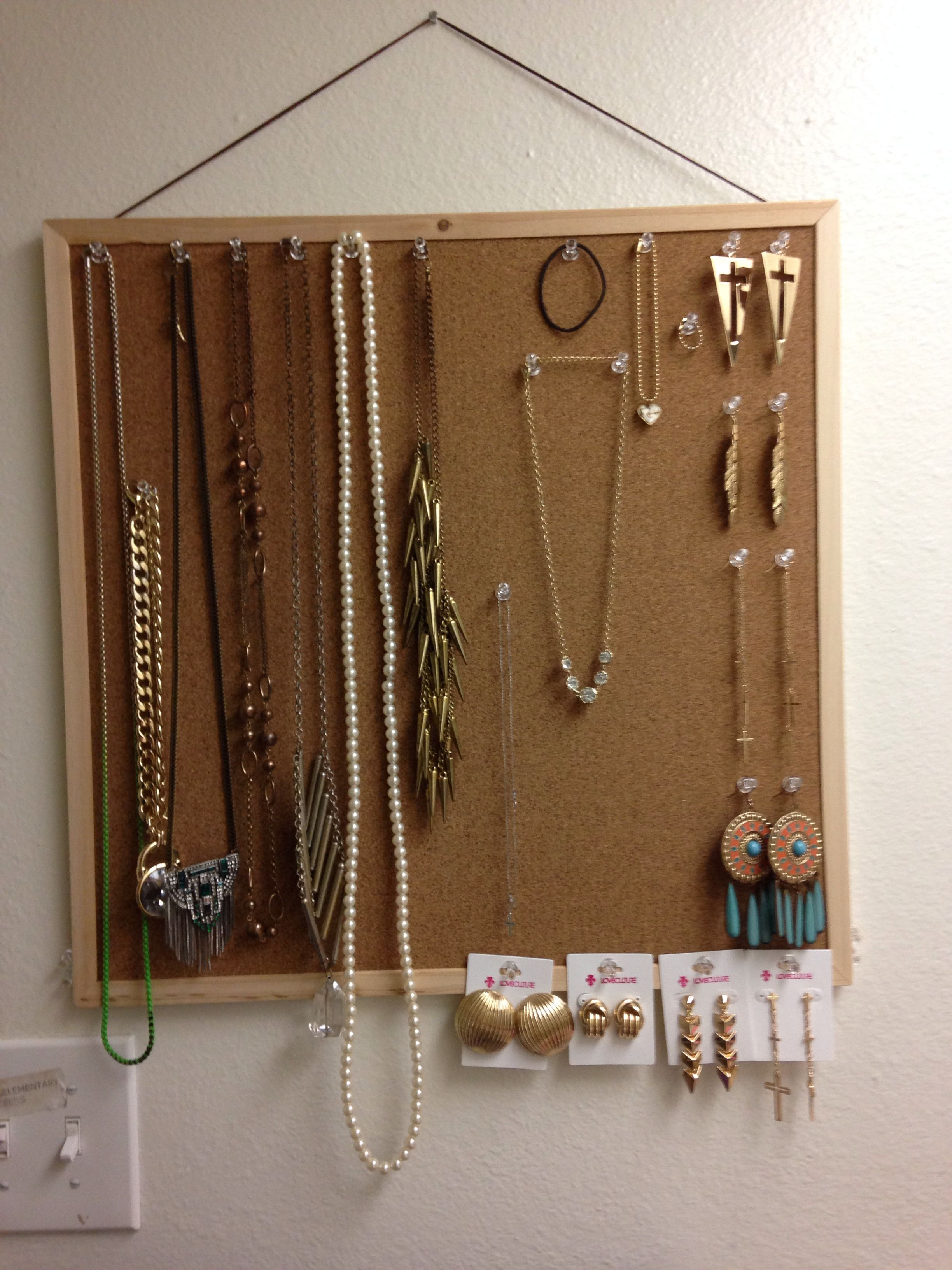 Purchased Cork Board And Thumb Tacks Under 5 At Daiso Store To