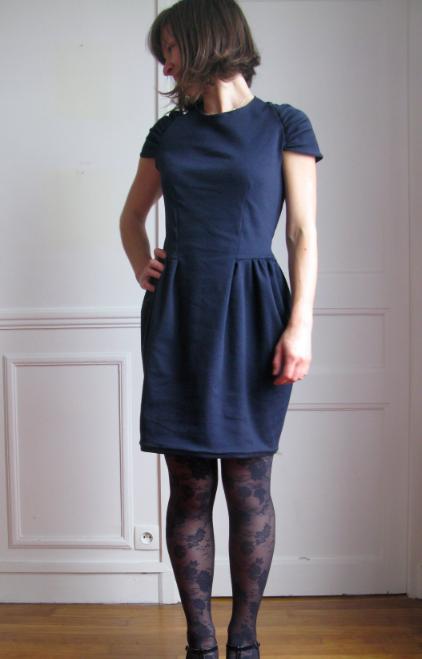 Drape drape dress | Sewing | Pinterest