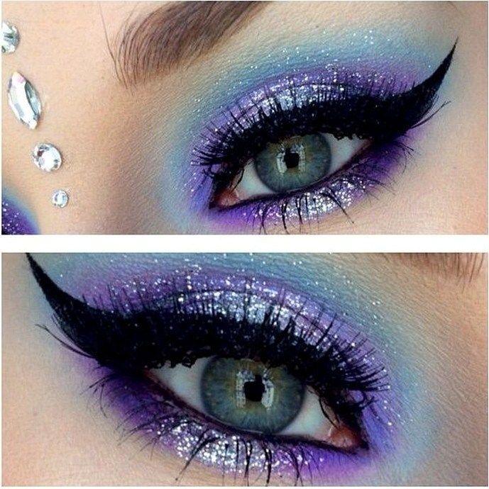 Maquillaje de hadas azules: 70 ideas de maquillaje de Halloween – #blue #fairy #halloween #ideas #makeup