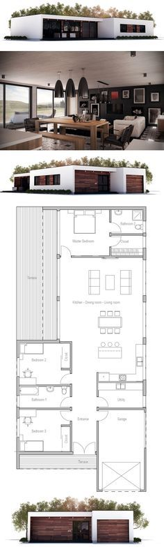 Narrow House Plan, New Home