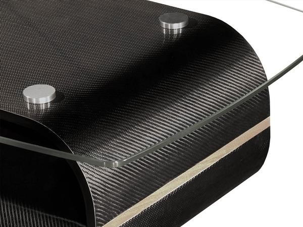 The Kedo K 3 Carbon Fiber Coffee Table Uses Irreplaceable Elements