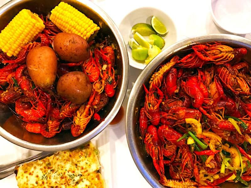 The Hirshon Houston Vietnam Cajun Crawdad Boil Recipe Crawfish