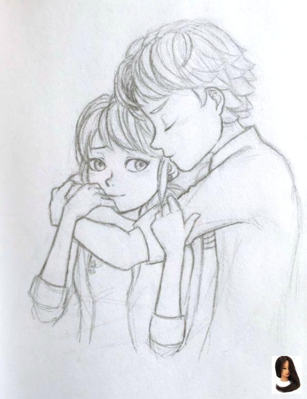 #Art #Cute Couples hugging #Die #Drawings #Paare #romantische #Skizzen #umarmen #und #Zeichnungen 40 Romantic Couple Hugging Drawings and Sketches #drawings #art 40 romantische Paare, die Zeichnungen und Skizzen umarmen #Zeichnungen #Kunst