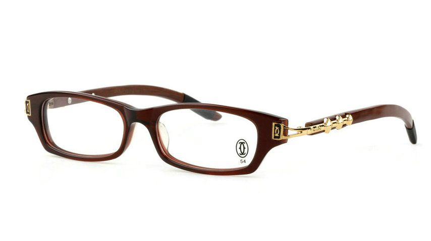 32430d3b32e Wholesale Replica Cartier Wood Frame Glasses for Sale-158