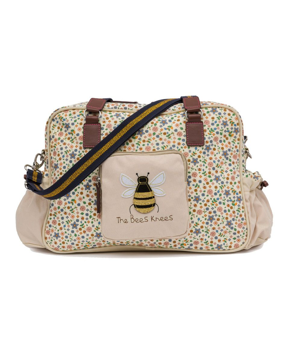 Take A Look At This Busy Bees The Knees Diaper Bag Today