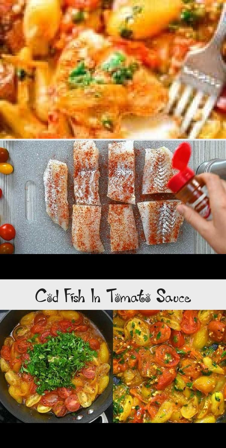 This super easy and tasty Cod Fish in Tomato Sauce is perfect for pairing with rice, grits, or pasta. Your meal will be ready to serve in about 30 minutes. FOLLOW Cooktoria for more deliciousness! #fish #seafood #cod #dinner #lunch #lowcarb #keto #ketosis #seafoodrecipeseasyPasta #seafoodrecipeseasyFamilies #seafoodrecipeseasyRice #seafoodrecipeseasyGlazedSalmon #seafoodrecipeseasyCrab