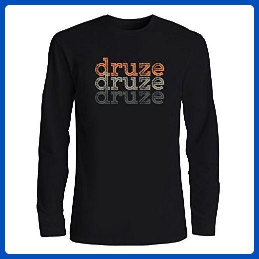 cb40d295 Idakoos - Druze repeat retro - Religions - Long Sleeve T-Shirt - Retro  shirts (*Amazon Partner-Link)