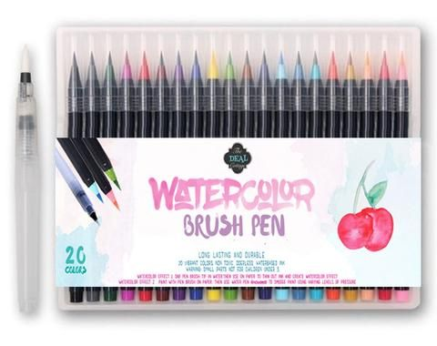 Watercolor Brush Pens The Deal Cottage Fashion Watercolor