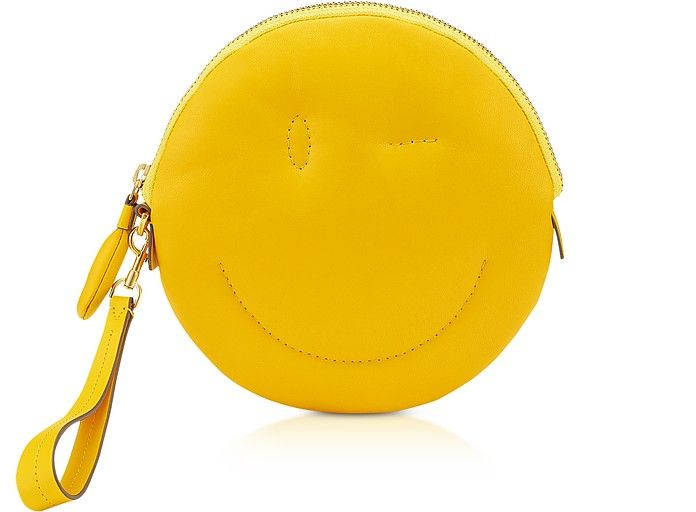 72775f3f24 Anya Hindmarch Soft Nappa Soleil Wink Chubby Clutch in 2019 | hello ...