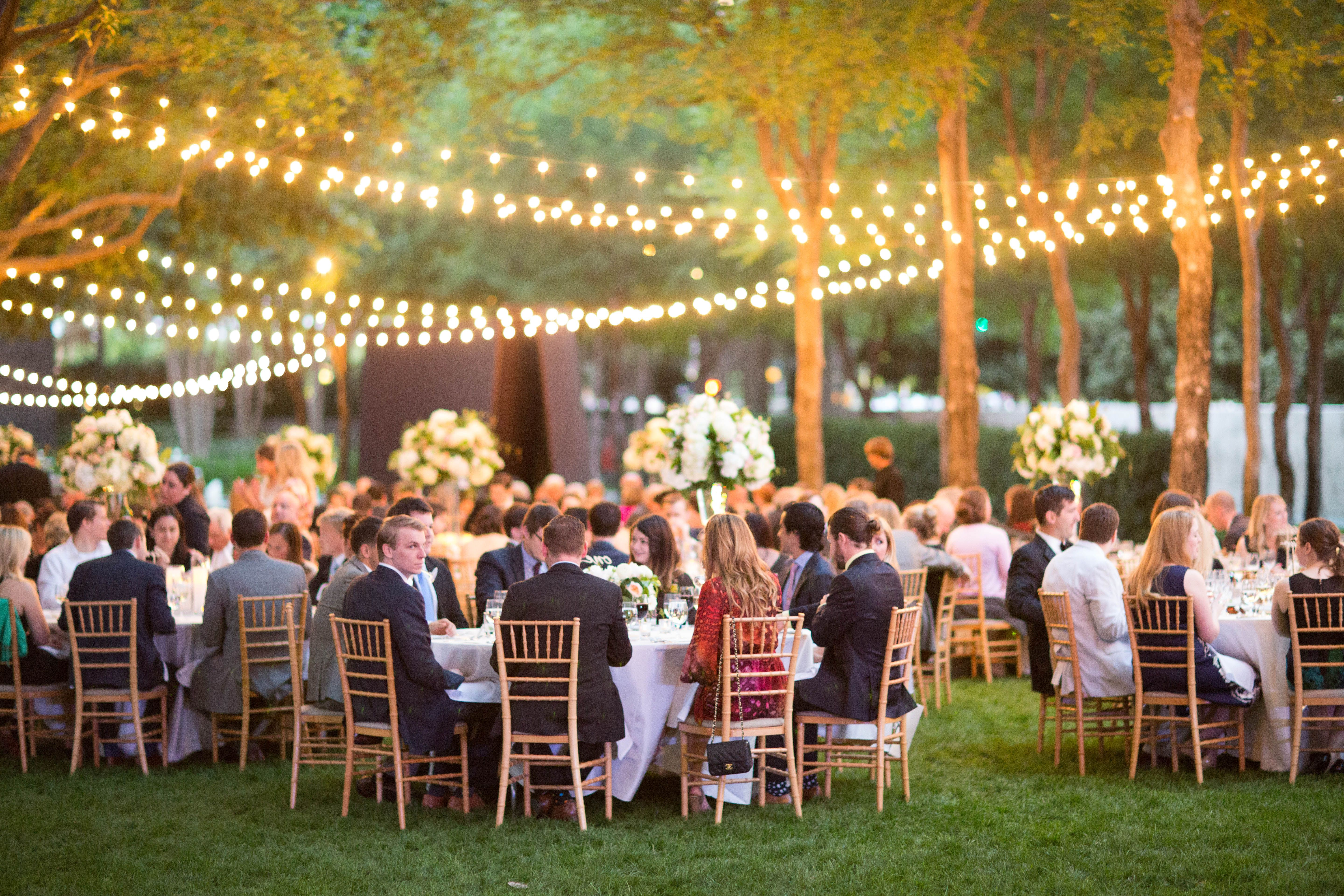 outdoor wedding venues in fort worth tx%0A Intimate and romantic setting for an outdoor wedding at the Nasher  Sculpture Center in Dallas