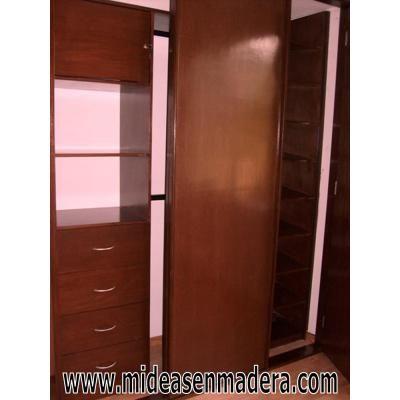 Closets Y Vestidores De Madera Muebles E Ideas En colchas de camas